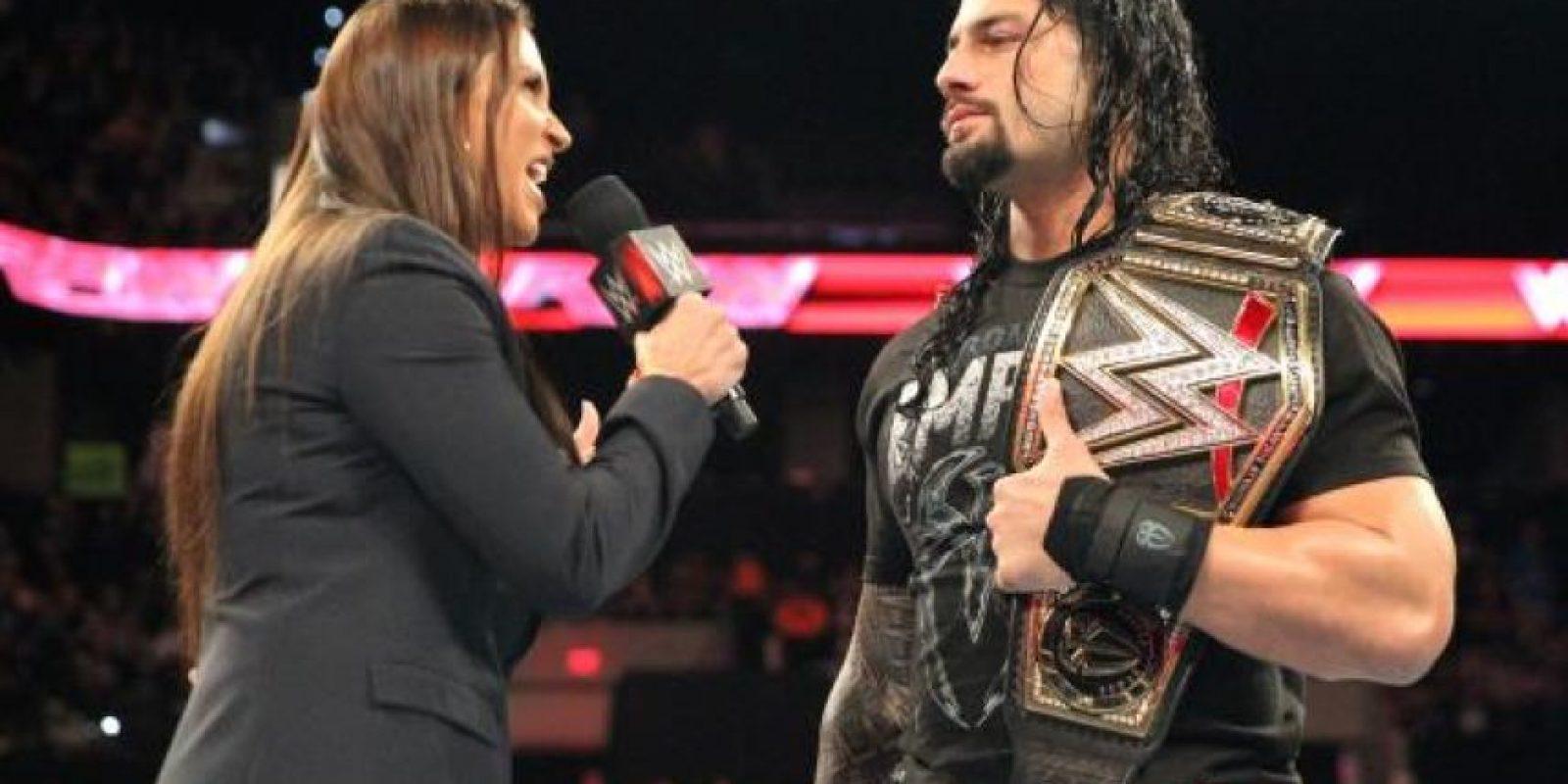 """Roman Reigns no es del agrado de """"La Autoridad"""" Foto:WWE"""