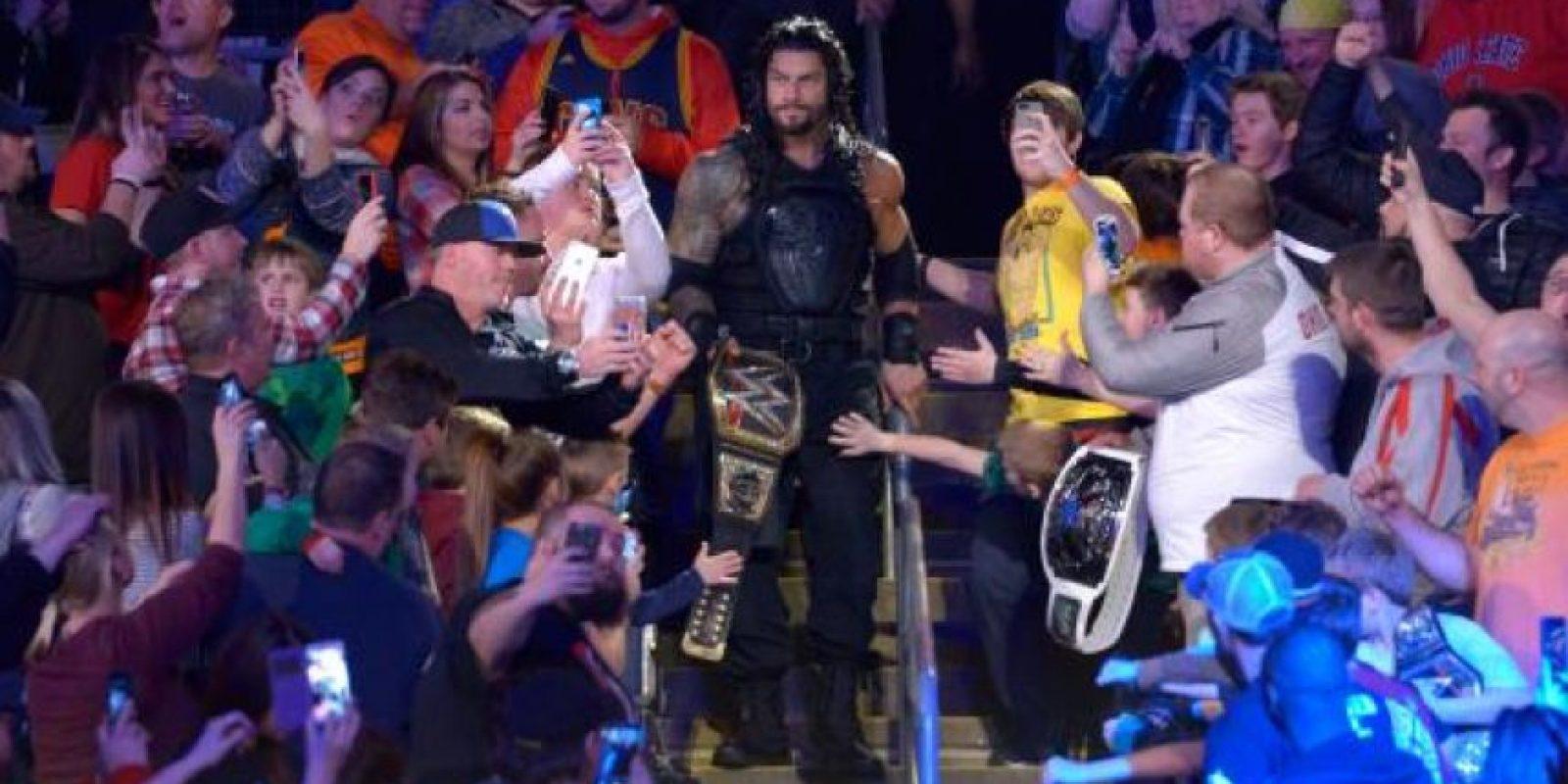 Pero no todo es malo para el campeón Foto:WWE