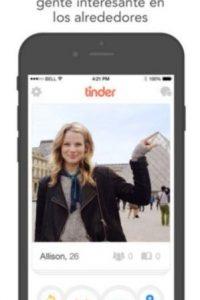 Disponible para iOS y Android. Foto:Tinder Inc.