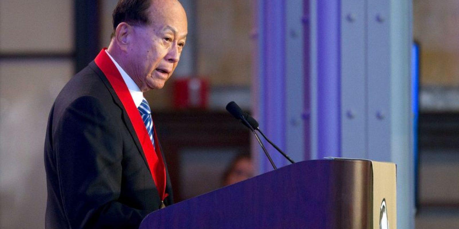Ejerce como presidente y CEO del Holding empresarial Cheung Kong y la poderosa Corporación Hutchison Whampoa. Foto:Getty Images