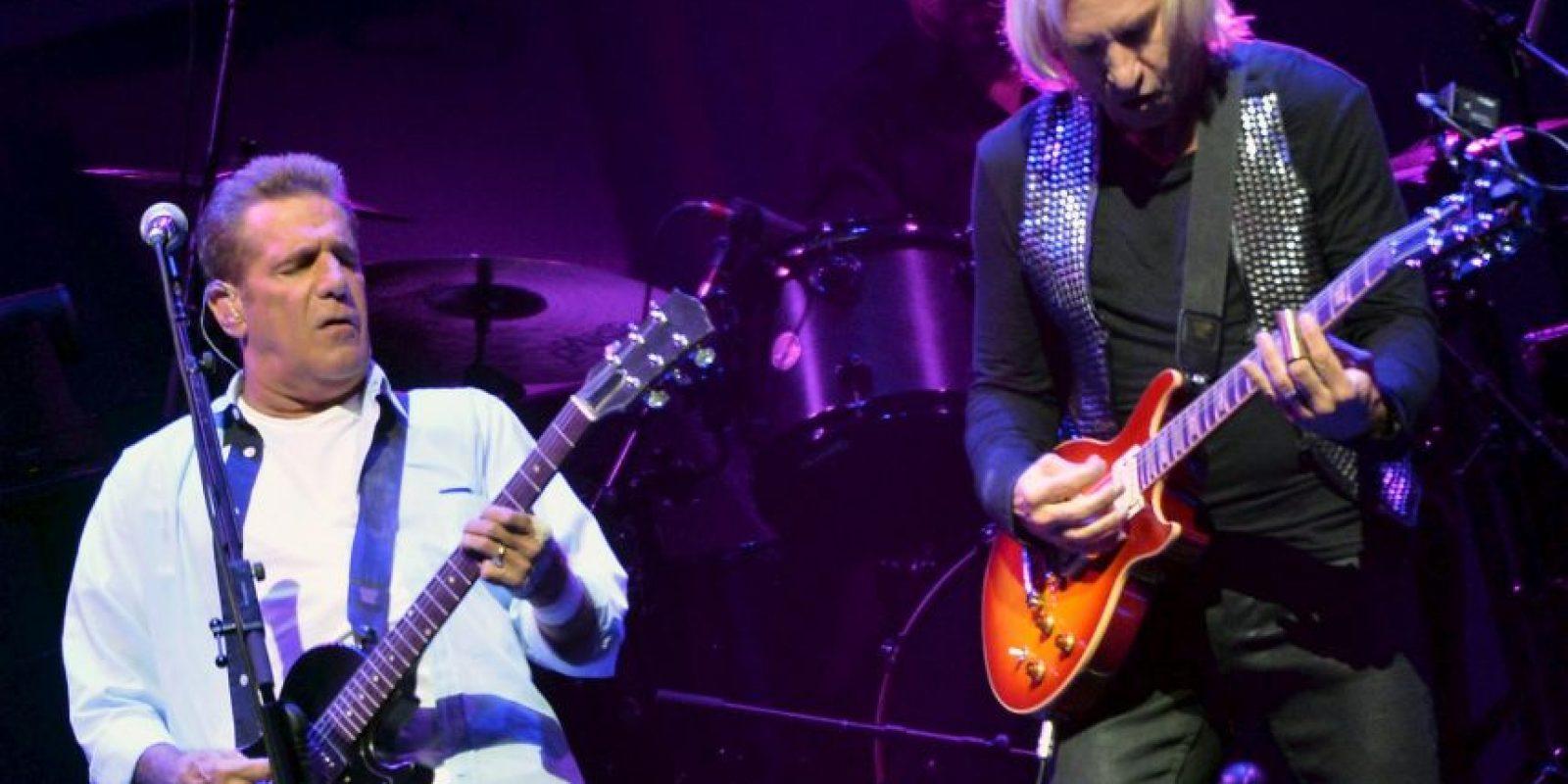"""En 2007, Frey y los otros miembros de Eagles sacaron un nuevo disco, """"Long Road Out Of Eden"""", con el que realizaron un tour (2007-2009) que los llevó por América y Europa. Foto:Getty Images"""