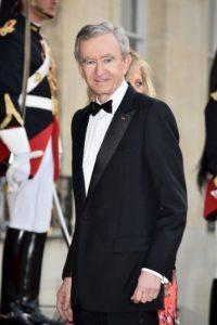 12. Bernard Arnault posee $37 mil millones de dólares. Foto:Getty Images