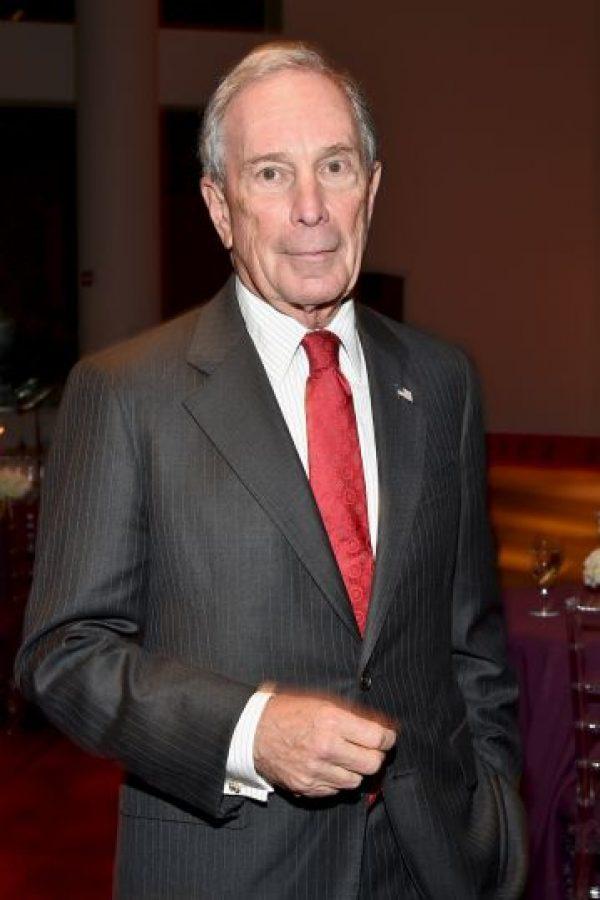 13. Michael Bloomberg: su fortuna esta avaluada en $35 mil 500 millones de dólares. Foto:Getty Images