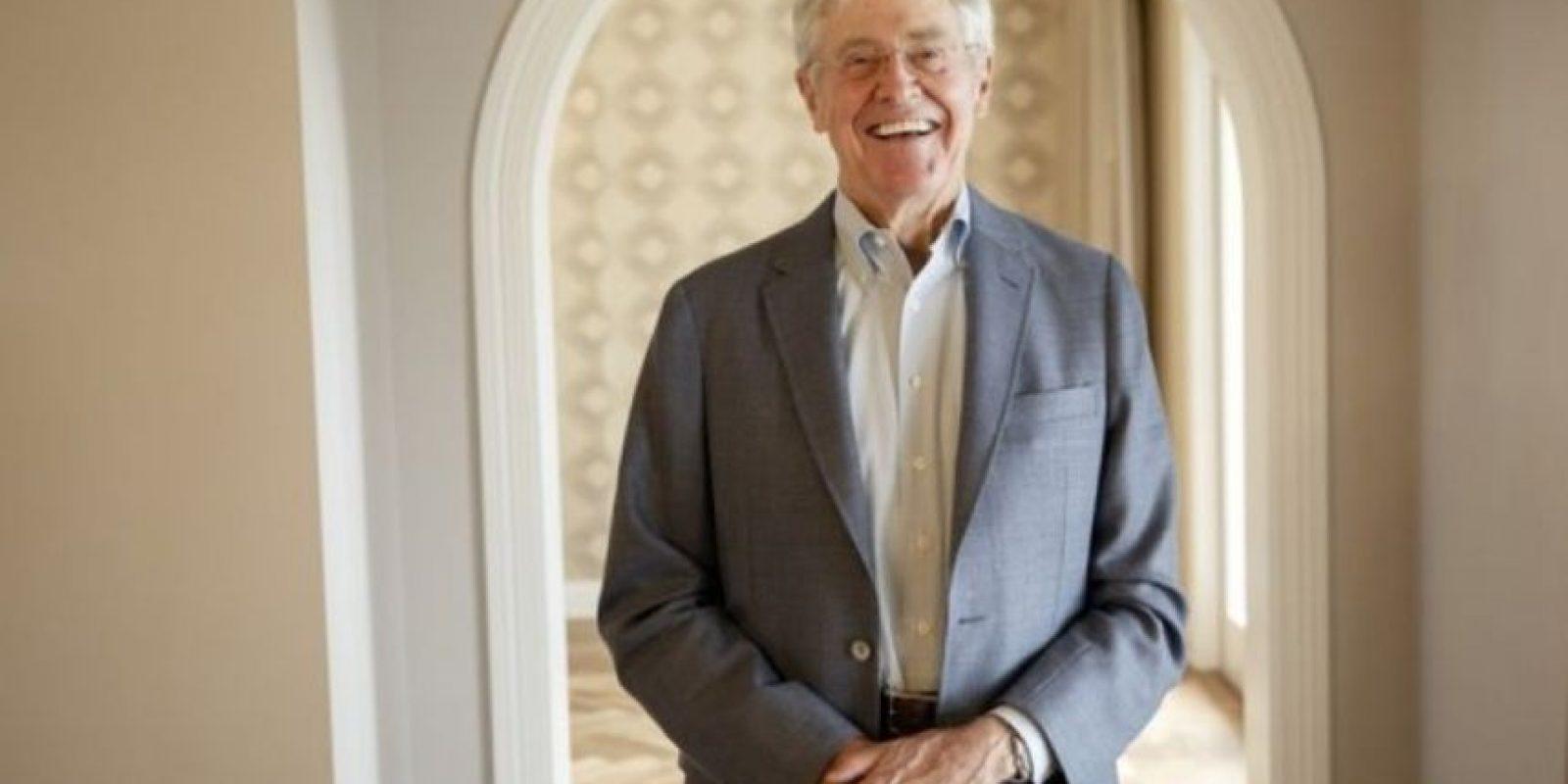 6. Charles Koch y David Koch comparten posición debido a su fortunas avaluadas en $42 mil 900 millones de dólares. Foto:Pinterest