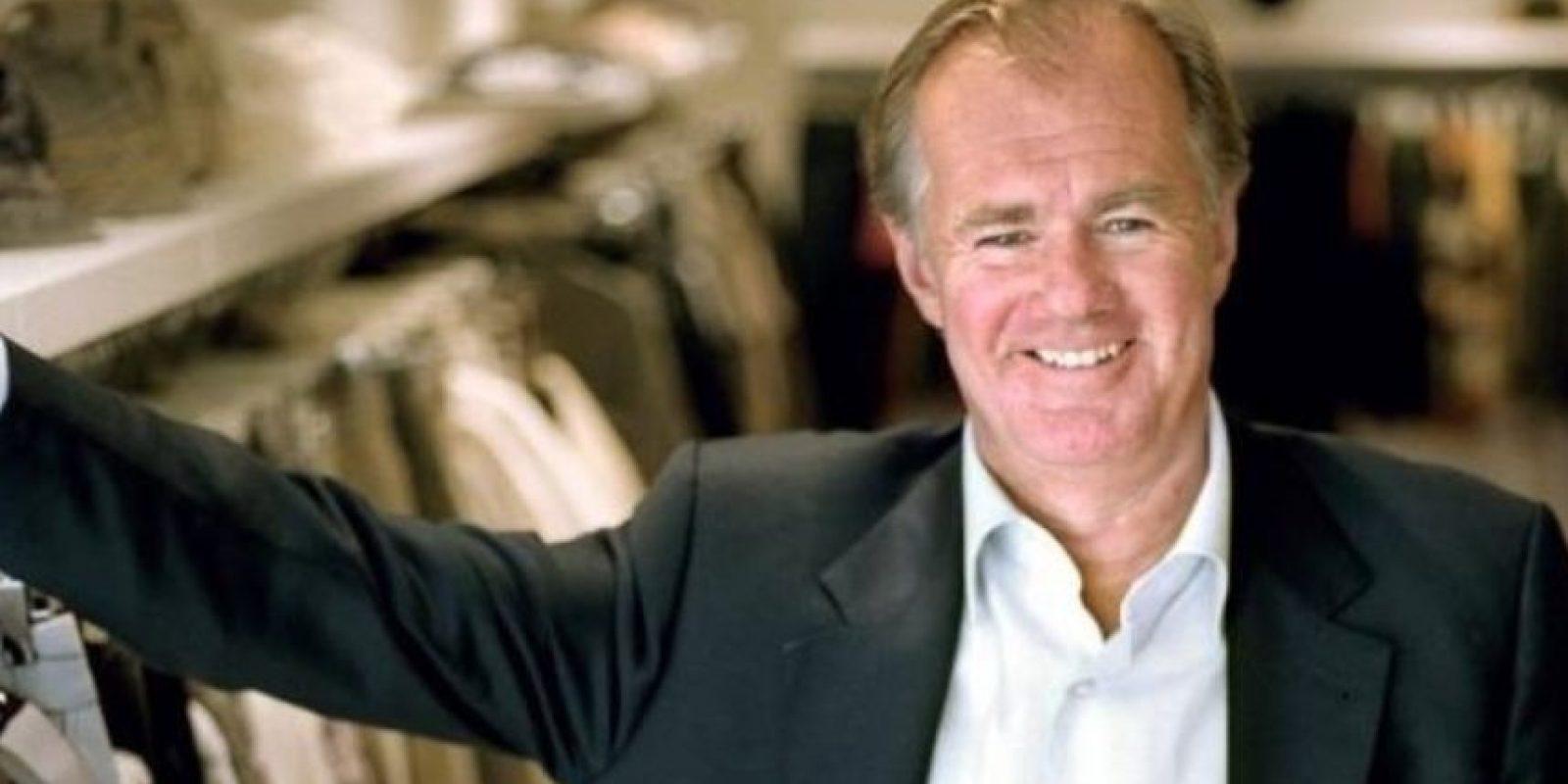 El empresario sueco es el principal accionista del Grupo Hennes & Mauritz (H&M). Foto:Pinterest