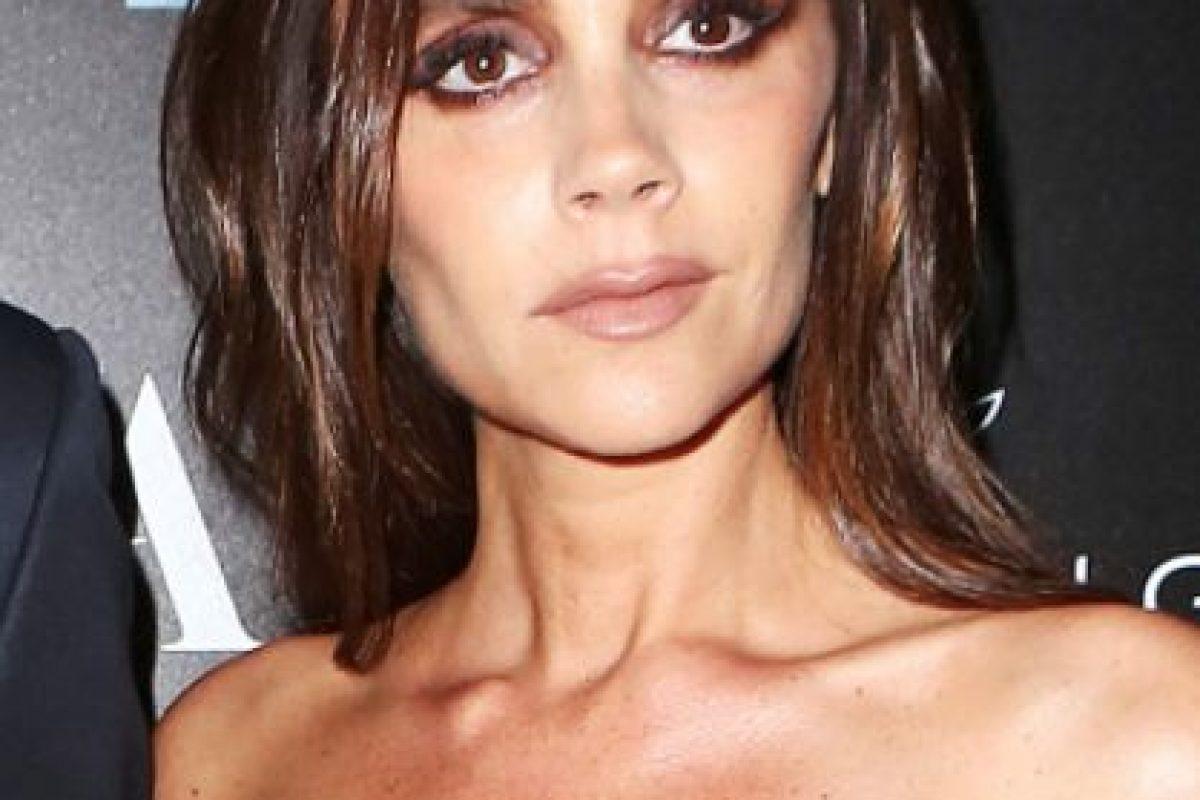 Esto pasa cuando se maquilla. Foto:vía Getty Images