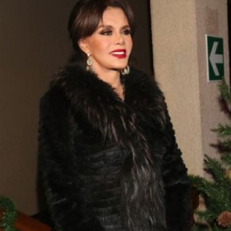 La actriz y cantante mexicana tiene 60 años. Foto:Getty Images