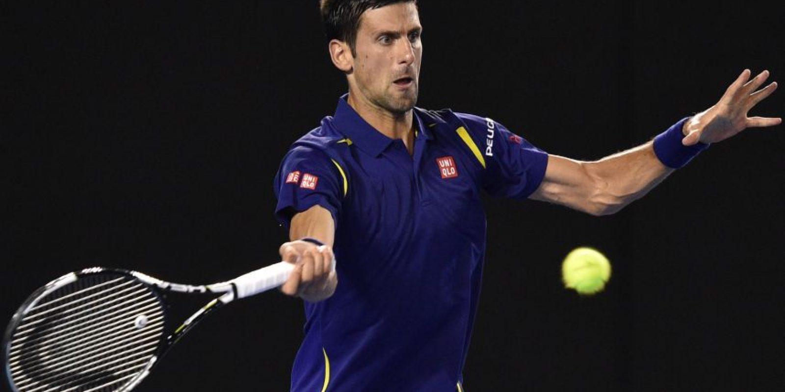 Nole es el número 1 de la ATP. Foto:AFP