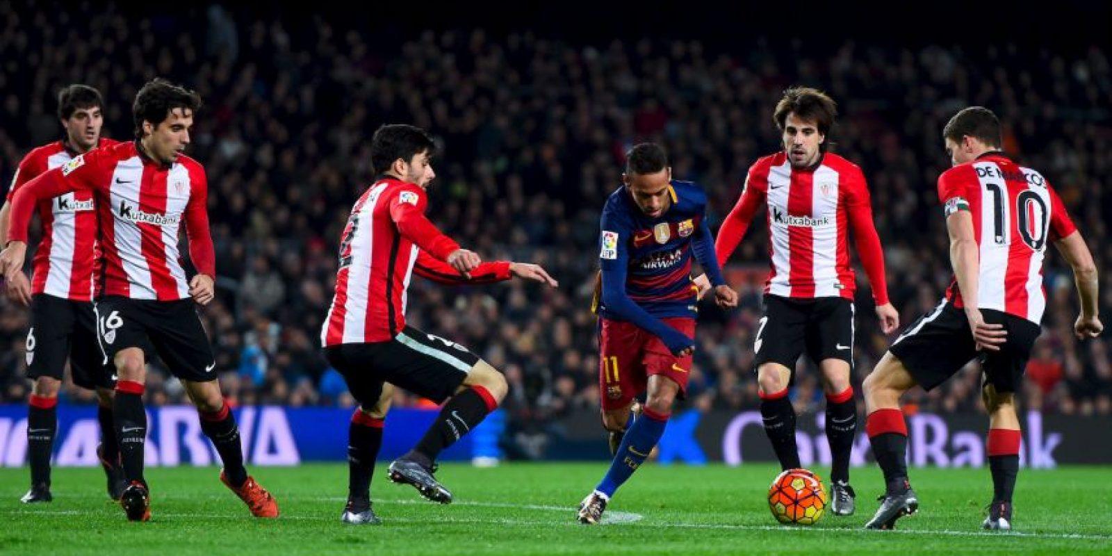 Athletic de Bilbao recibe al Barcelona en los cuartos de final de la Copa del Rey Foto:Getty Images