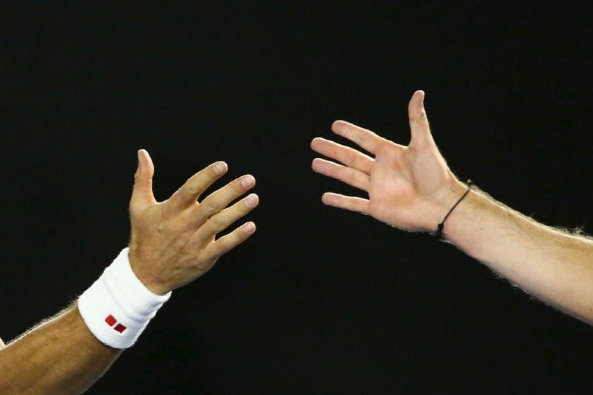 Aseguró que se pueden inventar miles de historias cuando los tenistas top pierden un partido Foto:Getty Images