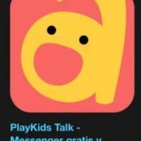 """– """"PlayKids Talk – Messenger gratis y seguro para los niños, familia y amigos"""". Designada como la más innovadora y funciona para enviar o recibir mensajes de forma segura, sencilla y divertida. Foto:Apple"""