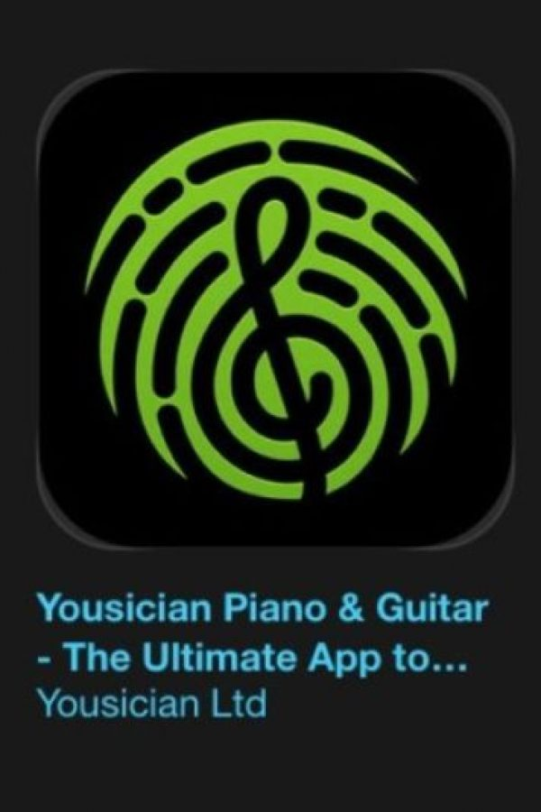"19- ""Yousician Piano & Guitar – The Ultimate App to Learn Songs"". Es gratuita. Se trata de un tutor personal de música para la era digital. Foto: Apple"