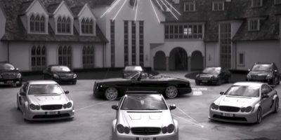 Los autos de Kim. Foto:MrKimDotcom / YouTube
