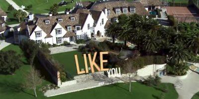 La lujosa mansión de Kim. Foto:MrKimDotcom / YouTube