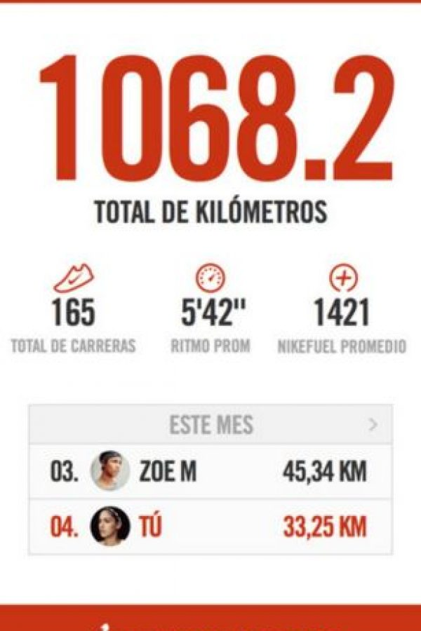 Disponible para iOS y Android. Foto: Nike, Inc.