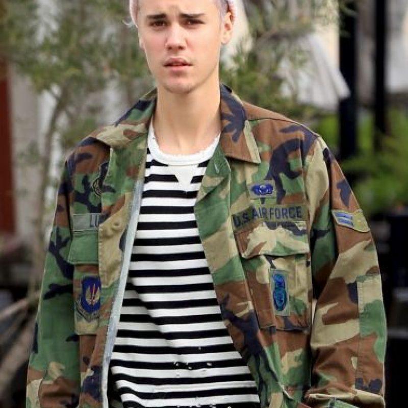 1. Así apareció Justin Bieber esta semana. Foto:Grosby Group