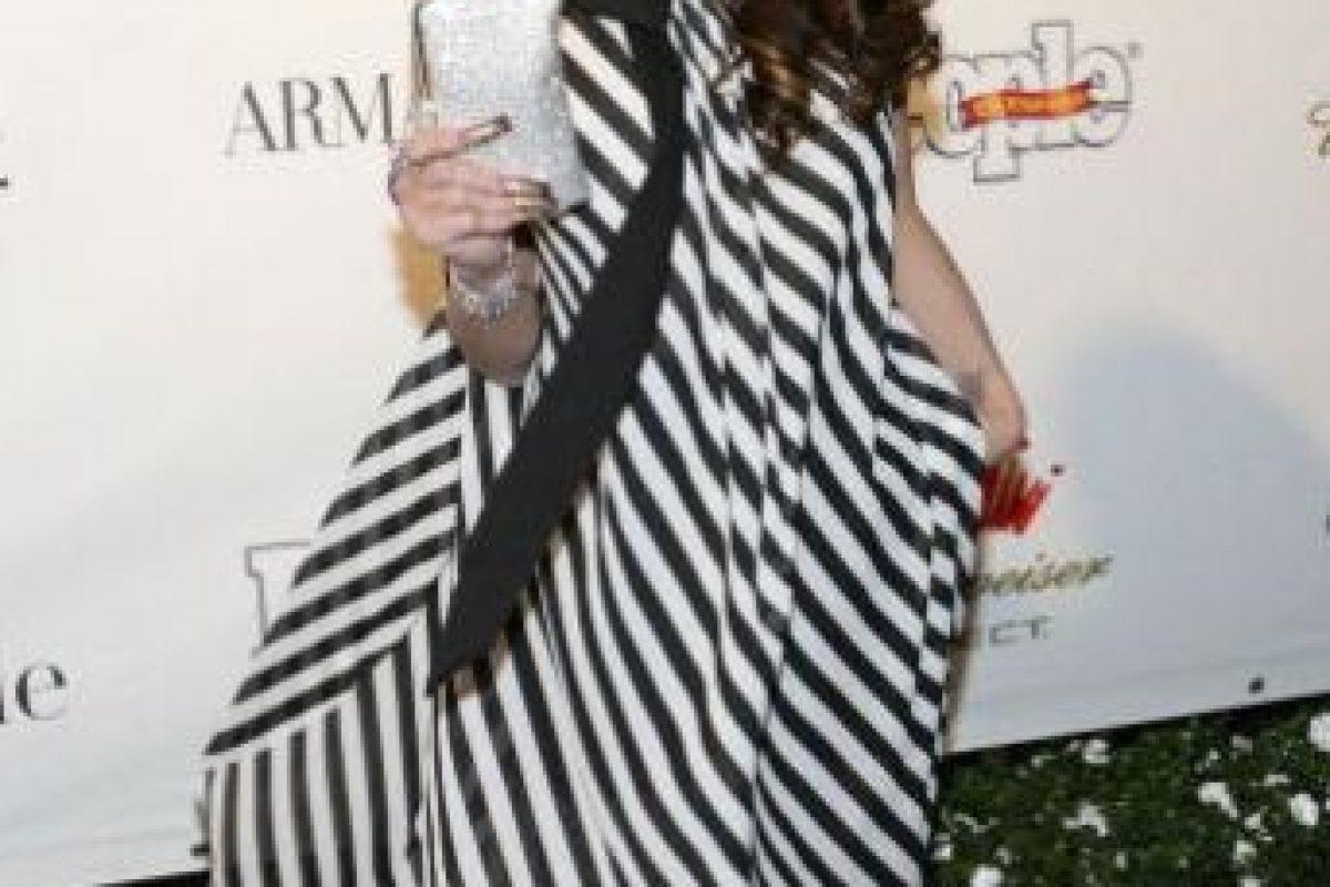 Ella no bebe alcohol. Foto:vía Getty Images