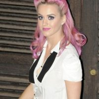 7. Katy Perry y su color rosado Foto: Getty Images