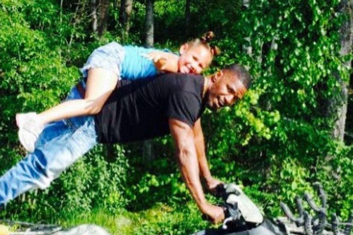 Tiene una hija, Corinne, nacida en 1994, que vive con su madre Foto:Vía instagram.com/iamjamiefoxx/