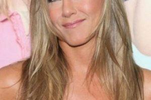 """La protagonista de """"Friends"""" es incondicional al tratamiento del cuppping. Foto:Getty Images"""
