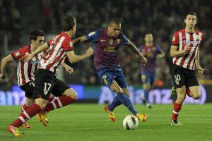 Dani Alves ha dejado un legado en el equipo culé. Foto:AFP
