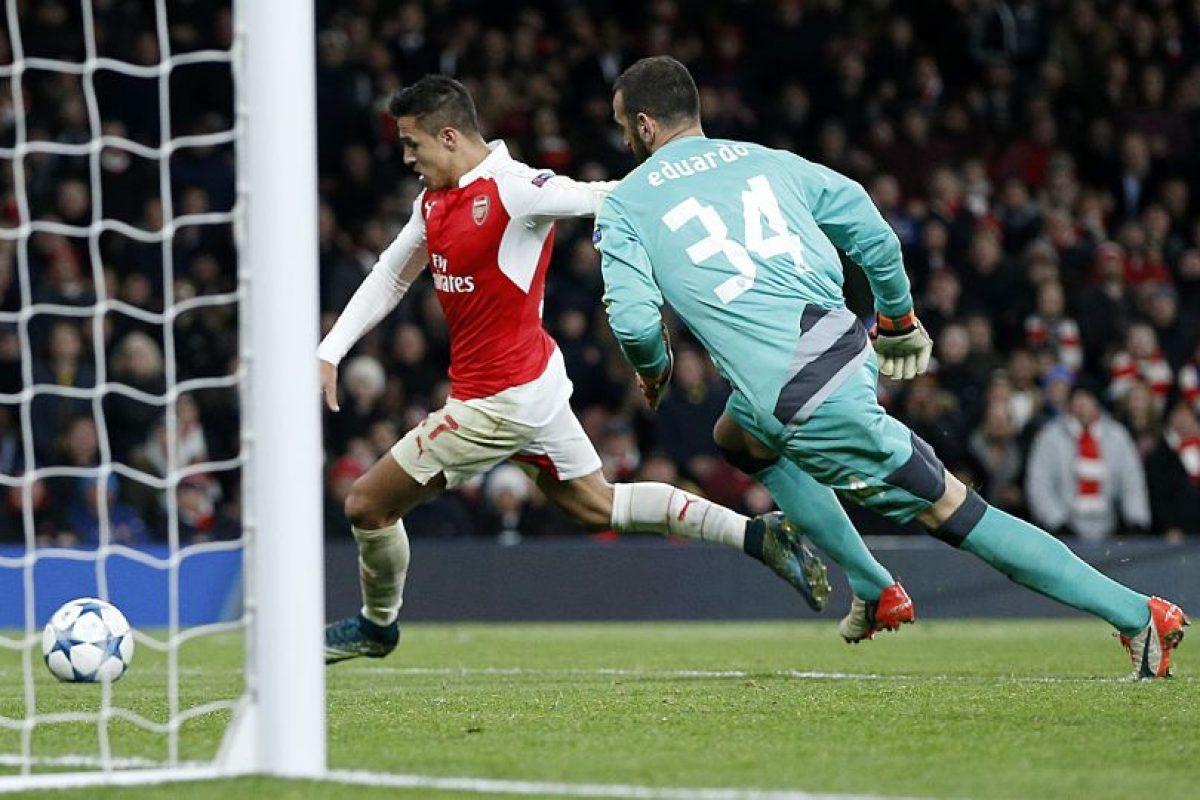 Alexis Sánchez es fundamental para los Gunners. Foto:AFP