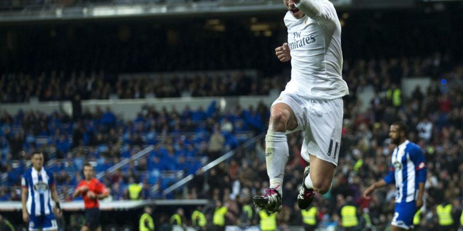 Gareth Bale anotó tres goles ante el Deportivo. Foto:AFP