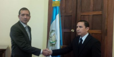 Ricardo Guzmán Loyo, el viceministro de seguridad Foto:Mingob