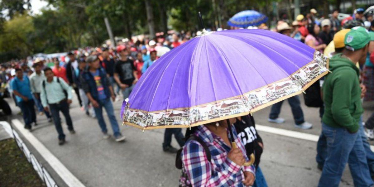 Fotos. La primera protesta magisterial en contra del presidente