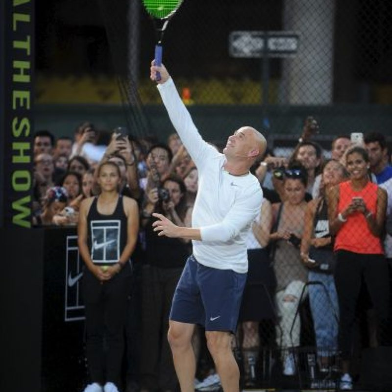 André Agassi, ganador de ocho títulos de Grand Slam Foto:Getty Images