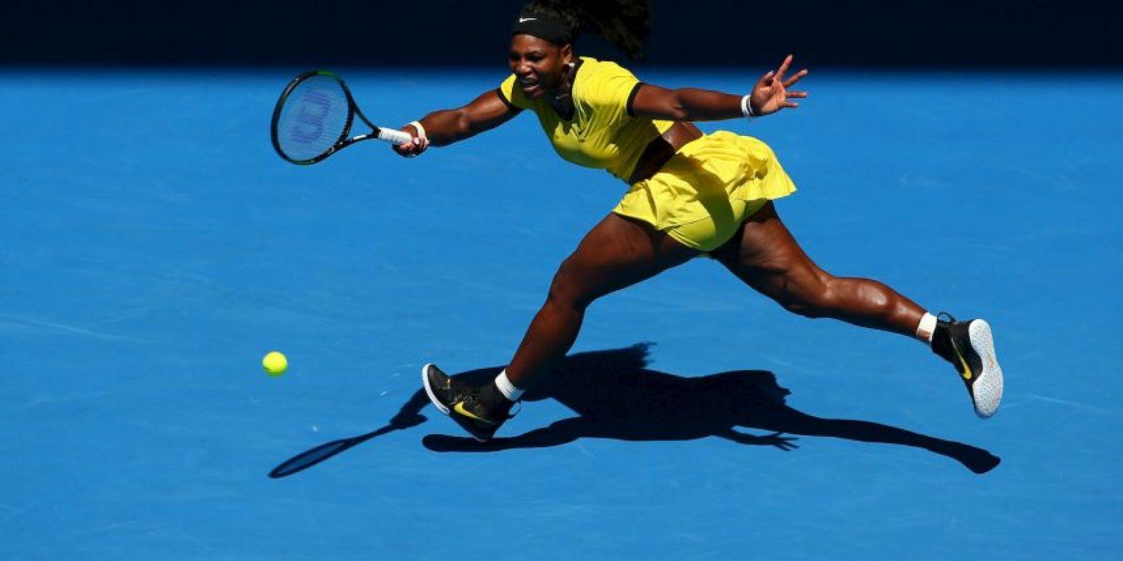 """""""Juego con intensidad y todas las jugadoras con las que me enfrento parecen que también lo hacen intensamente"""", Serena Williams, número uno de la WTA Foto:Getty Images"""
