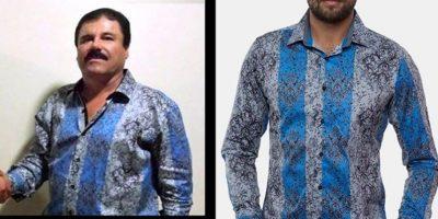 """Las camisas de Barabas que popularizó """"El Chapo"""" se agotaron en poco tiempo. Cuestan 100 dólares. La marca también recauda fondos para la lucha contra las drogas. Foto:vía BARABAS"""