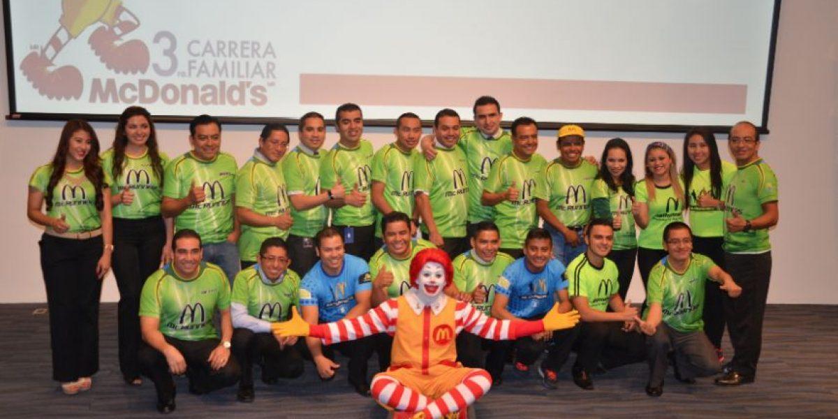 Anuncian Carrera Familiar McDonald