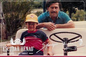 Escobar Henao nació en 2010. Foto:vía Escobar Henao