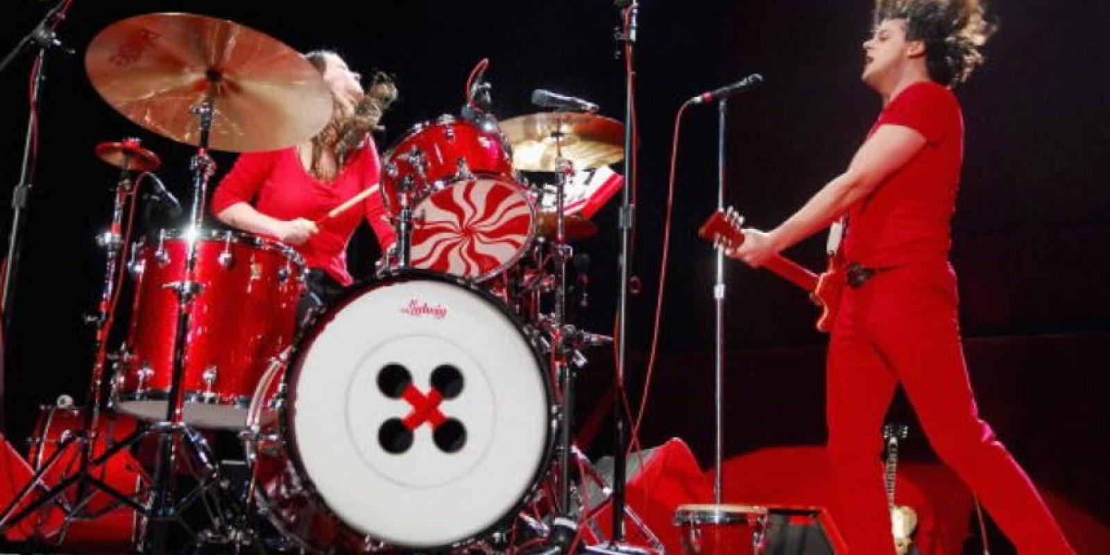 Jack y Meg White no necesitaban de un bajo para su sonido. Foto:vía Getty Images