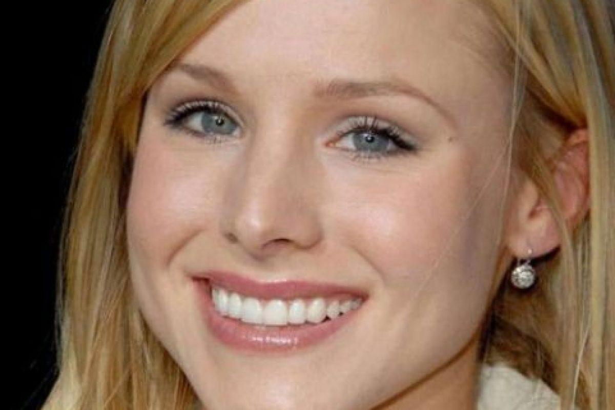 Y la actriz de televisión Kristen Bell Foto:Getty Images