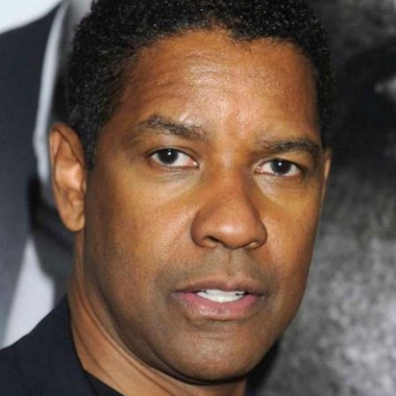 Al igual que Denzel Washington Foto:Getty Images