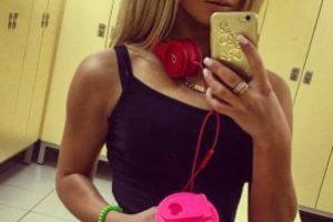 La modelo rubia cada día aumenta su popularidad en las redes sociales Foto:Vía instagram.com/kissluckchris