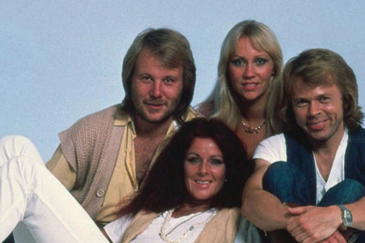 Rechazaron cantar o posar para las cámaras Foto:Vía facebook.com/ABBA