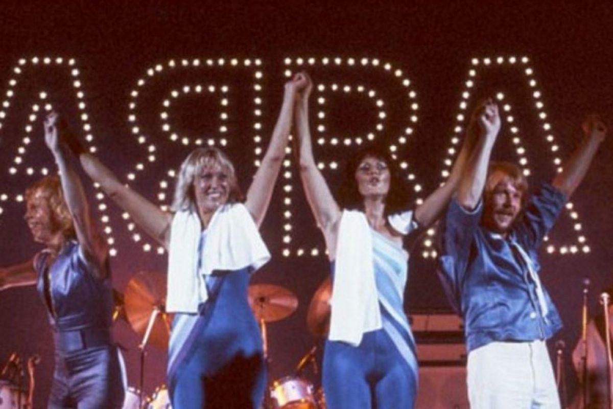 Lo hicieron en la inauguración del restaurante de Björn Ulvaeusen Foto:Vía facebook.com/ABBA