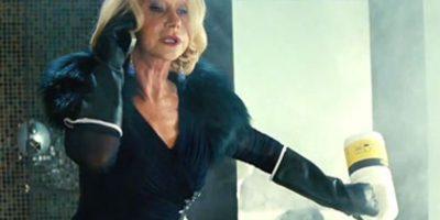 """Así se ve Helen Mirren en """"Red"""". Foto:vía Universal"""