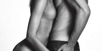 Irina Shayk sin ropa en la nueva campaña de Givenchy