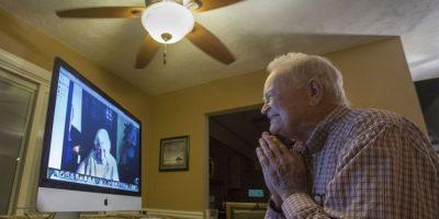 Ya conversaron a través de una videollamada Foto:AP