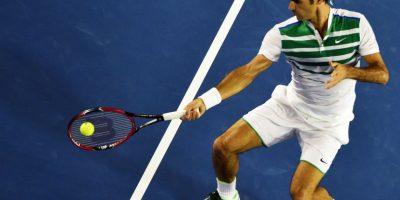 Roger Federer sigue haciendo historia en la ATP. Foto:AFP