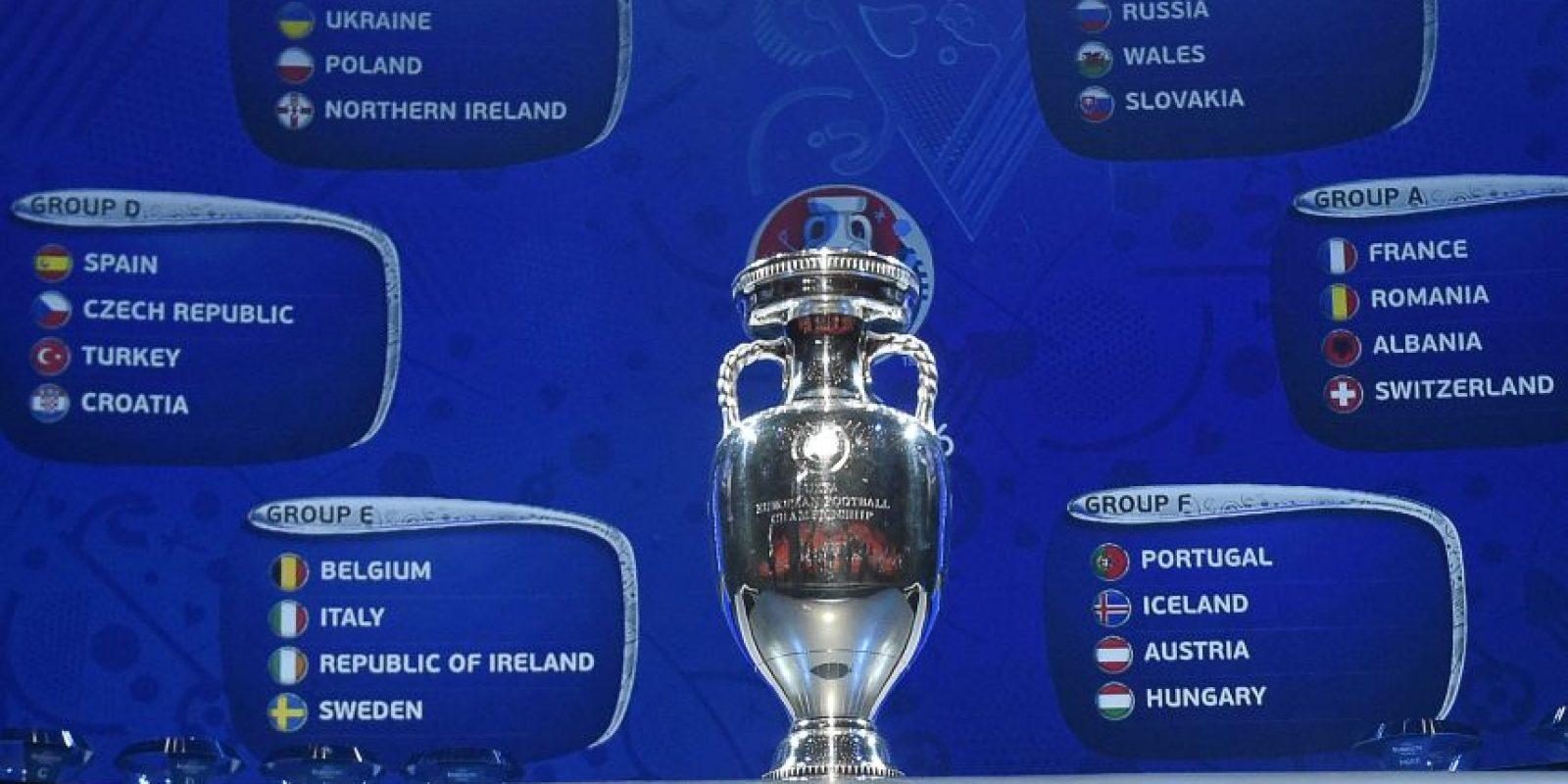 El cetro que todas las selecciones europeas buscarán ganar. Foto:AFP