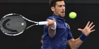 Novak Djokovic en el Australia Open 2016 Foto:AFP