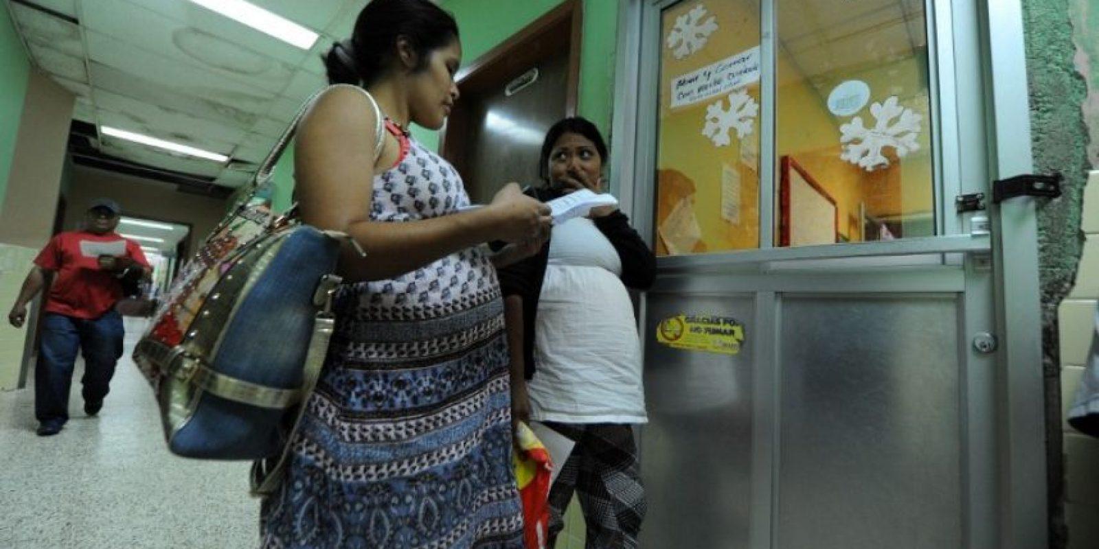 ¿Y las embarazadas? Foto:AFP