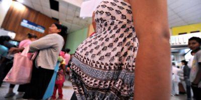 El principal riesgo que los bebés nazcan con microcefalia, es decir, una afección en la cual la cabeza es mucho más pequeña de lo normal. Foto:AFP