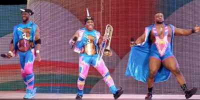 The New Day, representado por Big E y Kofi Kingston Foto: WWE