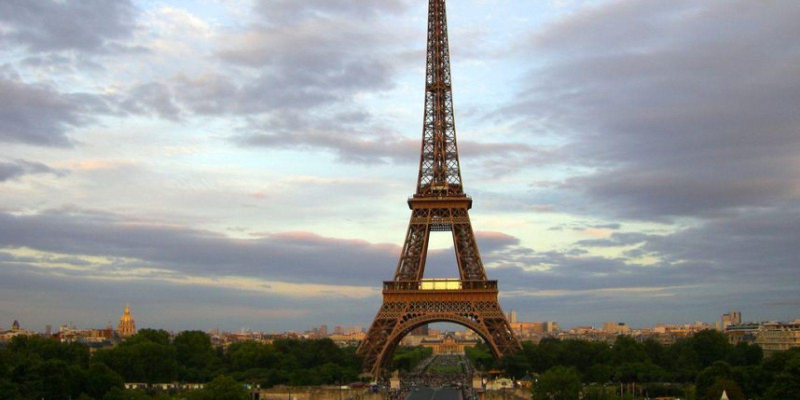 La torre Eiffel, Francia. Foto:Vía Flickr